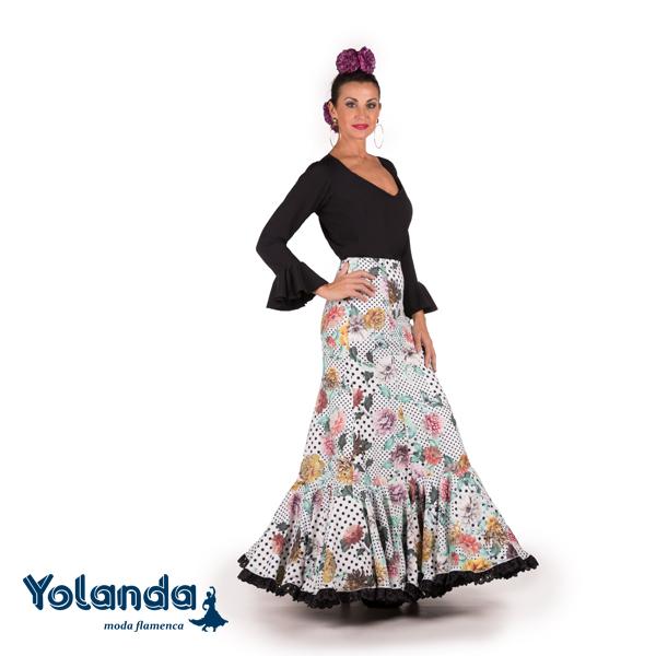Falda Flamenca Feria - Yolanda Moda Flamenca