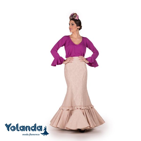 Falda Flamenca Rocio - Yolanda Moda Flamenca