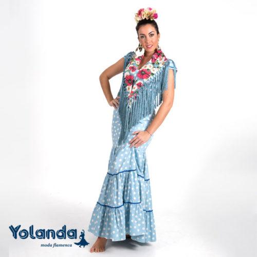 Bata Rociera Jacinto - Yolanda Moda Flamenca