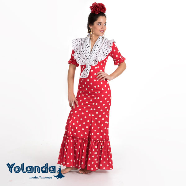 Bata Rociera Susana - Yolanda Moda Flamenca