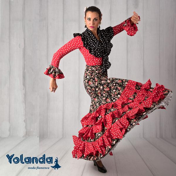 Conjunto Baile Soleares - Yolanda Moda Flamenca