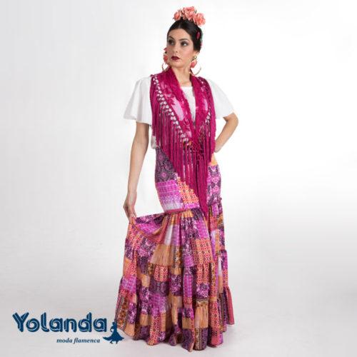 Falda Canastera Rocío - Yolanda Moda Flamenca