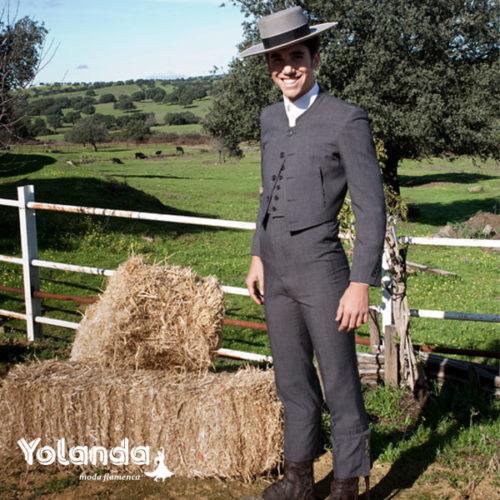 Traje Corto Hombre Alpaca- Yolanda Moda Flamenca