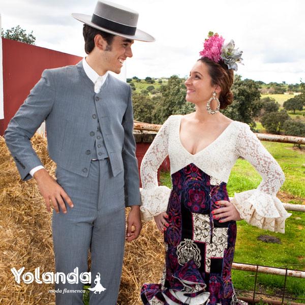 Traje Corto Hombre Gales - Yolanda Moda Flamenca