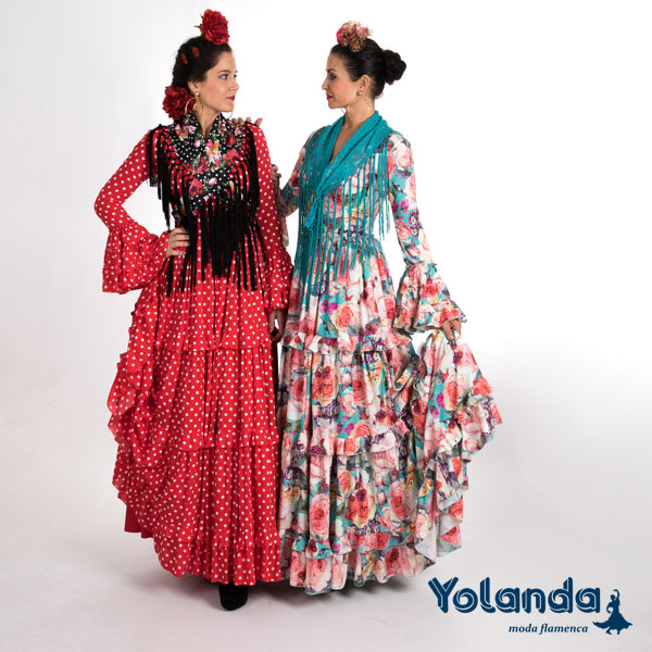 Traje Flamenca Amaral - Yolanda Moda Flamenca