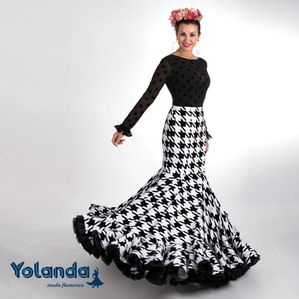 Traje Flamenca Amparo - Yolanda Moda Flamenca