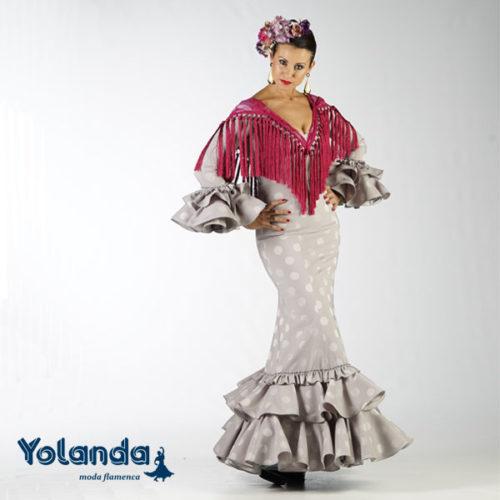 Traje Flamenca Elisa - Yolanda Moda Flamenca