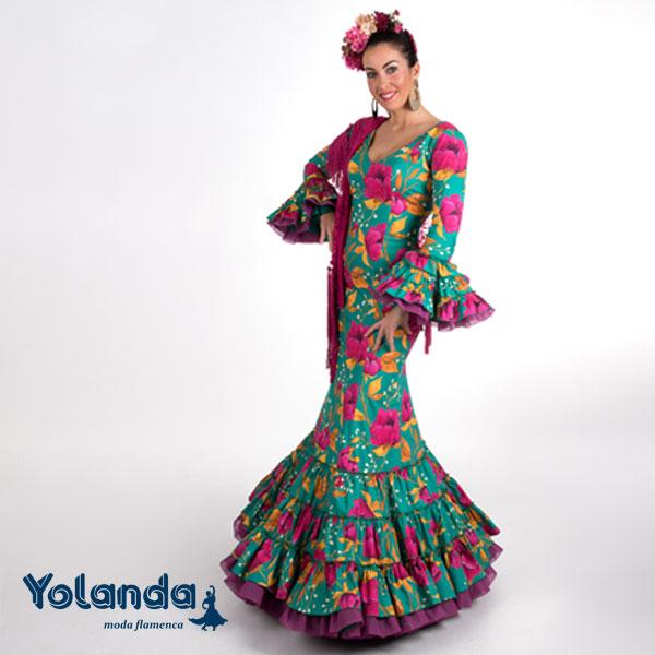 Traje Flamenca Inmaculada - Yolanda Moda Flamenca