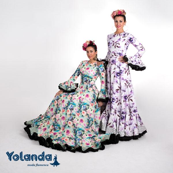Traje Flamenca Natalia - Yolanda Moda Flamenca