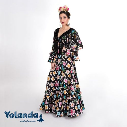 Traje Flamenca Tokio- Yolanda Moda Flamenca