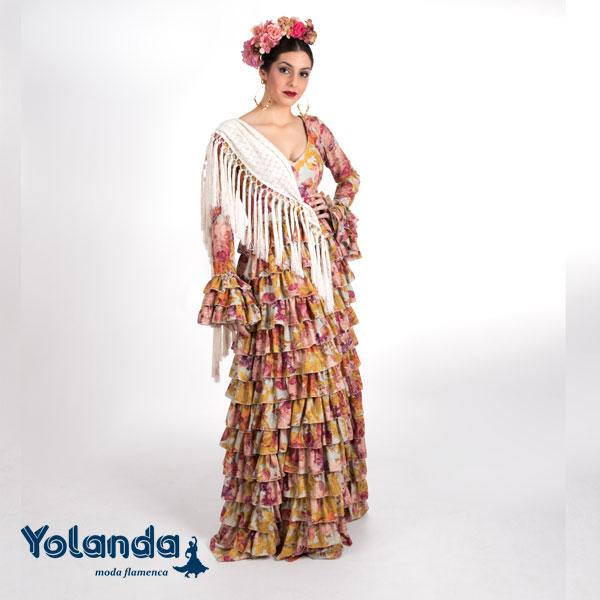 Traje Flamenca Topacio- Yolanda Moda Flamenca