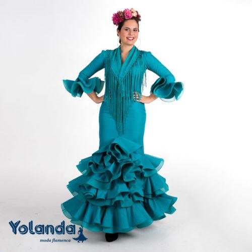 "Traje de Niña ""Captus"" - Yolanda Moda Flamenca"