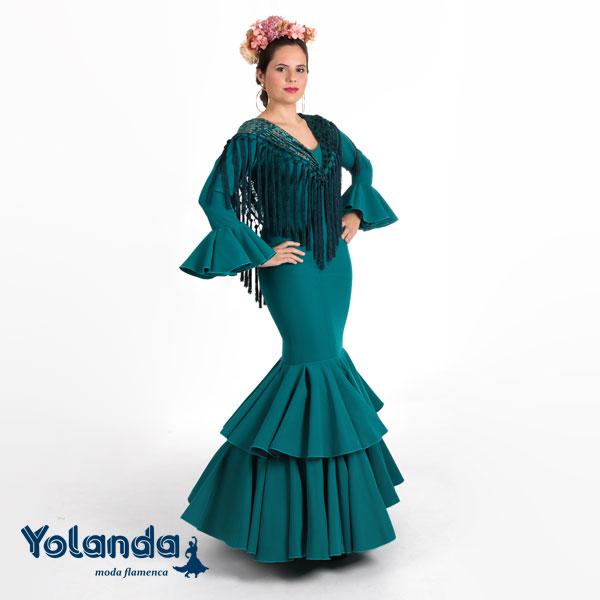 """Traje de Niña """"Crisantelmo"""" - Yolanda Moda Flamenca"""