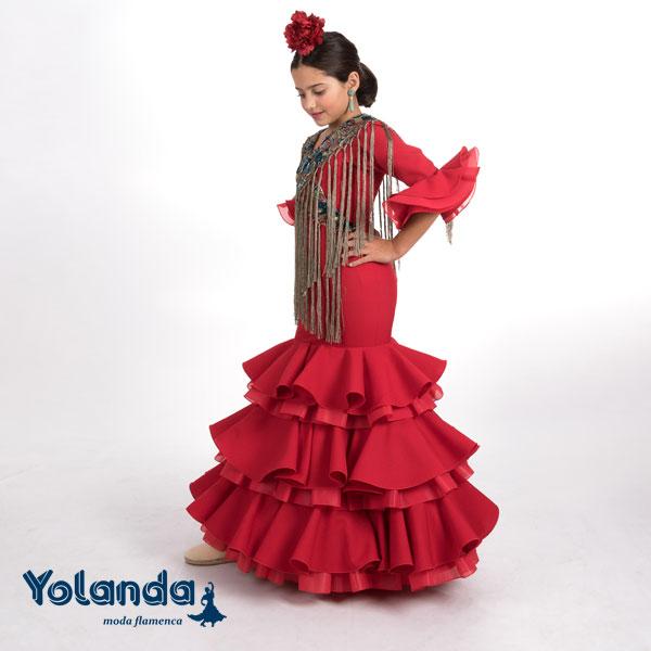 """Traje de Niña """"Hortensia"""" - Yolanda Moda Flamenca"""