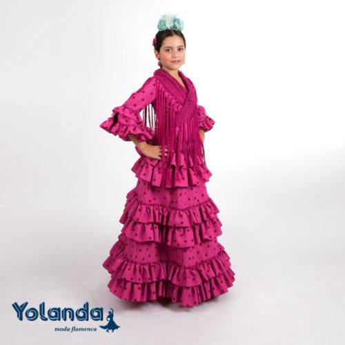 "Traje de Niña ""Jaramago"" - Yolanda Moda Flamenca"