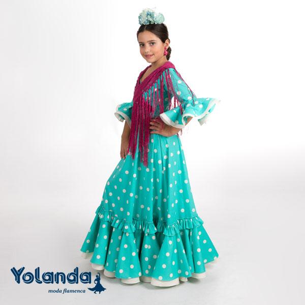 """Traje de Niña """"Jarro"""" - Yolanda Moda Flamenca"""