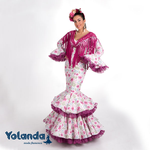 Traje Flamenca Alameda - Yolanda Moda Flamenca
