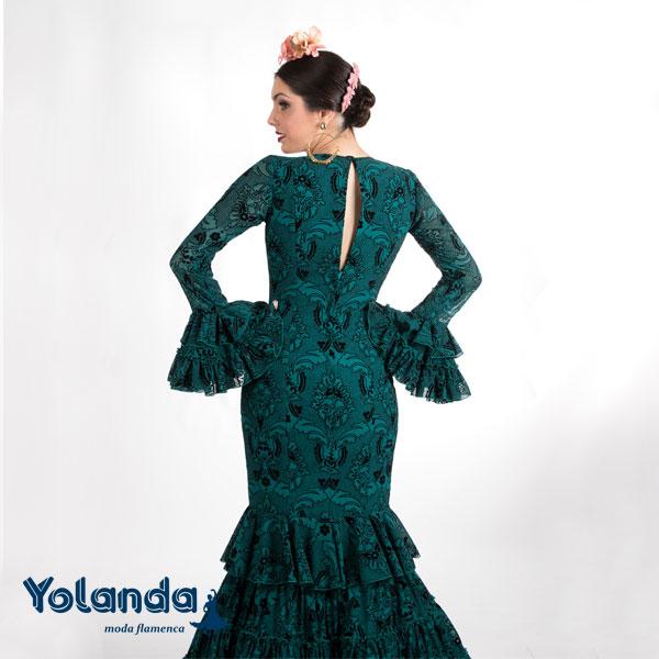 Traje Flamenca Leila - Yolanda Moda Flamenca