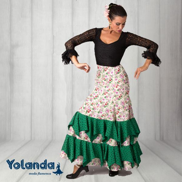 Vestido Baile Bulerias - Yolanda Moda Flamenca