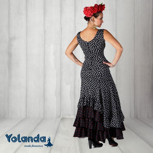 Vestido Baile Seguidillas - Yolanda Moda Flamenca