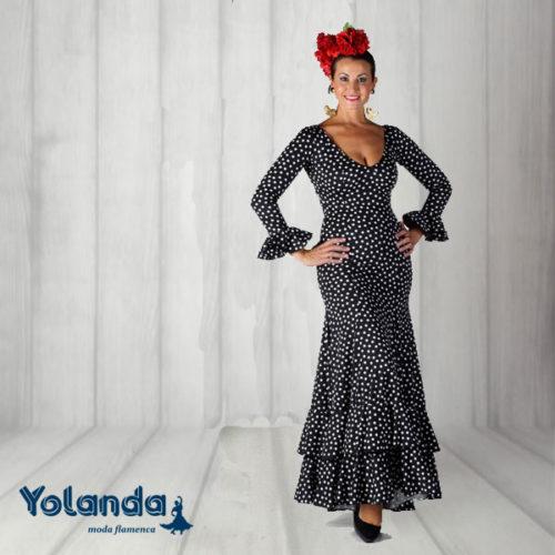 Vestido Baile Sevillanas - Yolanda Moda Flamenca