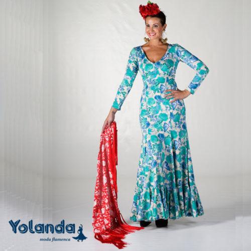 Vestido Baile Soleares - Yolanda Moda Flamenca