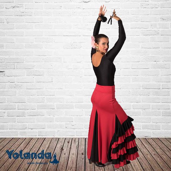 Falda Baile Bulerias - Yolanda Moda Flamenca