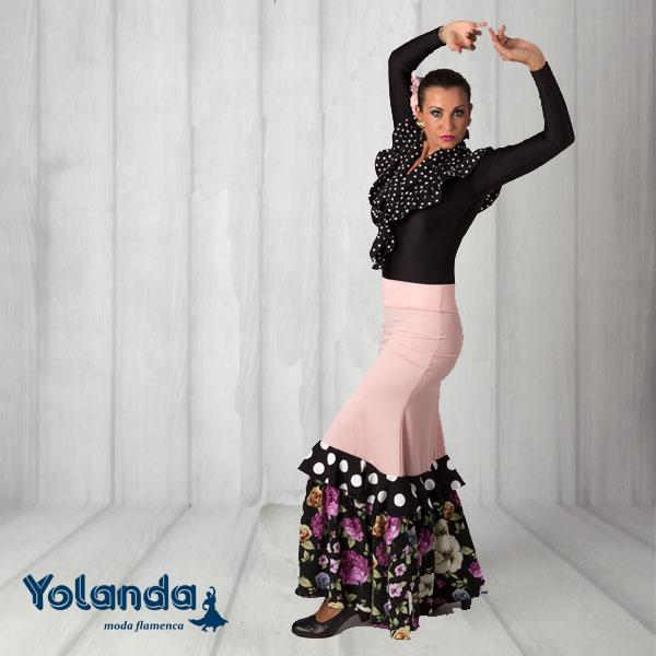 Falda Baile Tanguillos - Yolanda Moda Flamenca