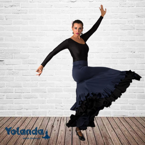 Falda Baile Tarantos - Yolanda Moda Flamenca