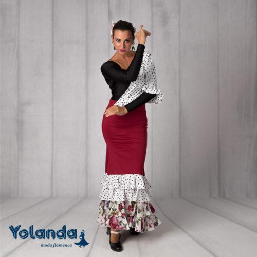 Falda Baile Tientos - Yolanda Moda Flamenca