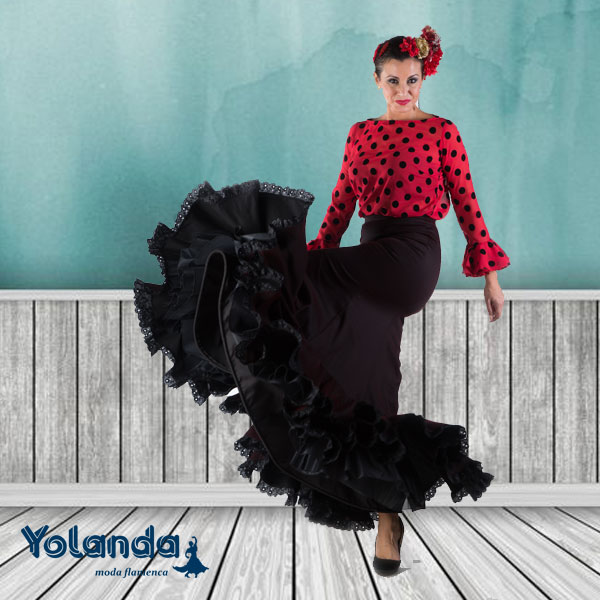 Falda Flamenca Abril - Yolanda Moda Flamenca
