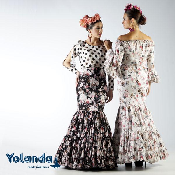 Falda Flamenca Mayo - Yolanda Moda Flamenca