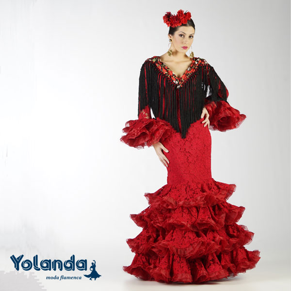 Traje Flamenca Aguasanta - Yolanda Moda Flamenca