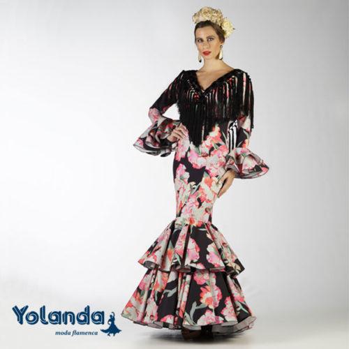 Traje Flamenca Amal - Yolanda Moda Flamenca
