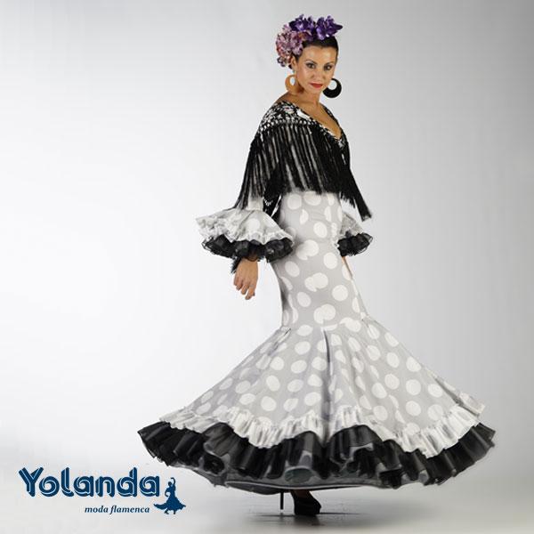 Traje Flamenca Angustia - Yolanda Moda Flamenca