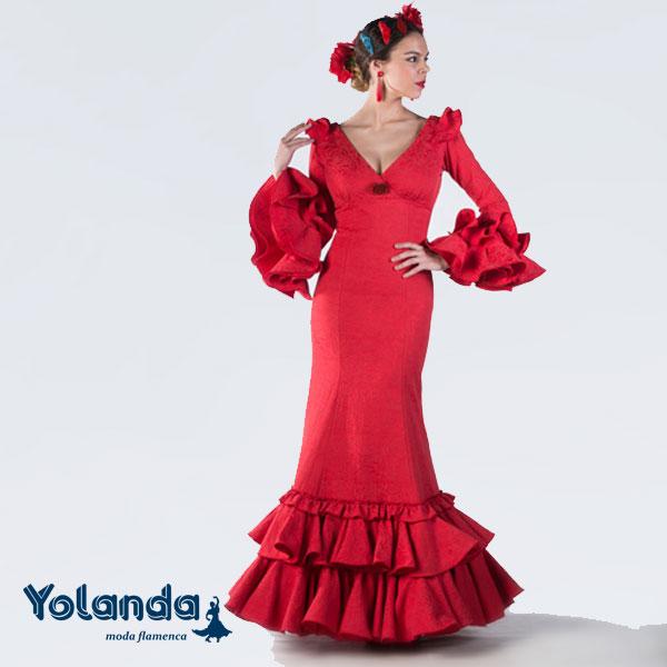 Traje Flamenca Azahara - Yolanda Moda Flamenca