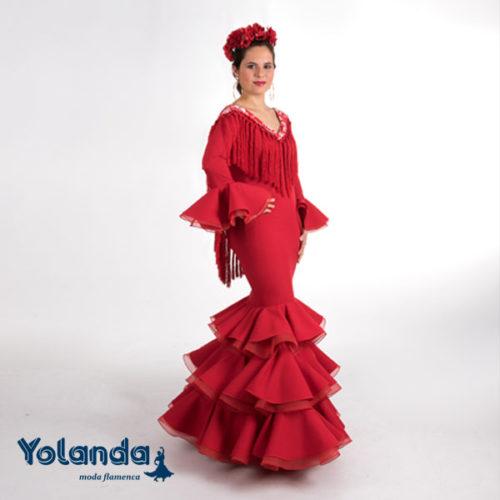 Traje Flamenca Camelia - Yolanda Moda Flamenca