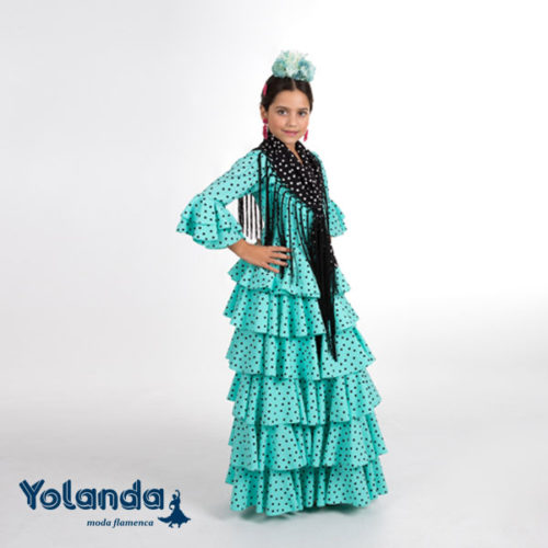 Traje Flamenca Girasol - Yolanda Moda Flamenca