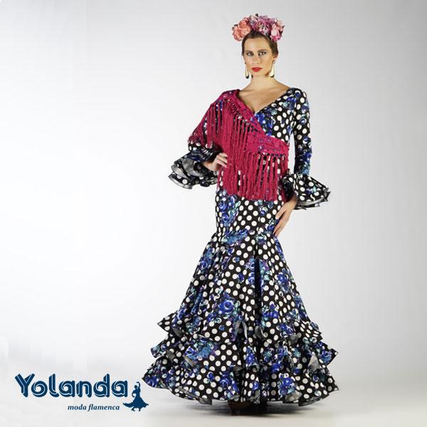 Traje Flamenca Teresa - Yolanda Moda Flamenca