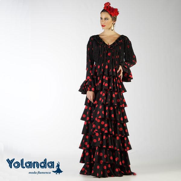 Traje Flamenca Trinidad - Yolanda Moda Flamenca