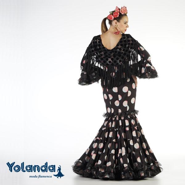 Traje Flamenca Victoria - Yolanda Moda Flamenca