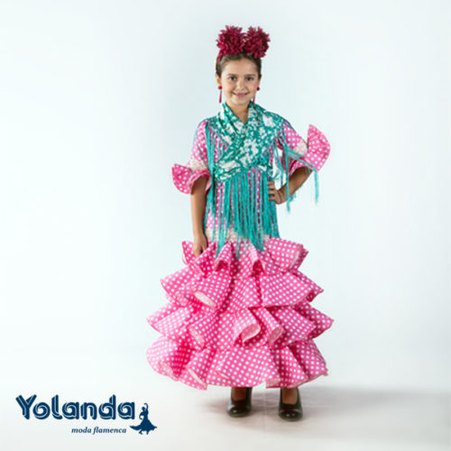 Traje Flamenca Tulipan - Yolanda Moda Flamenca