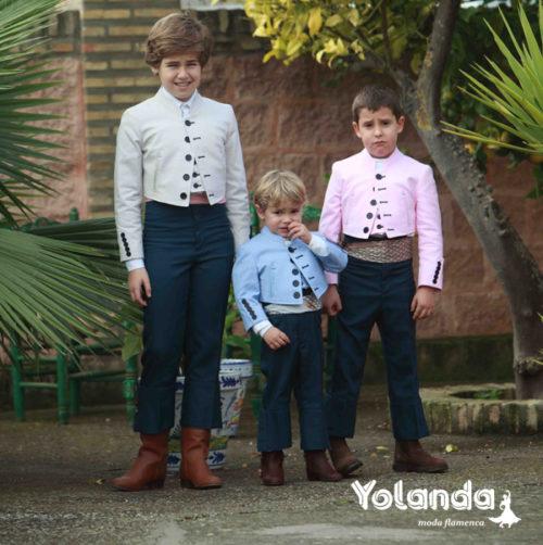 Traje Corto Niño-Yolanda Moda Flamenca