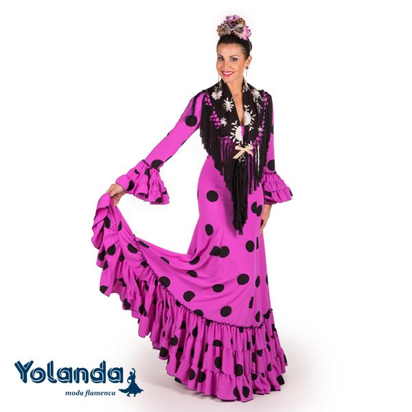 Traje Flamenca Aida - Yolanda Moda Flamenca