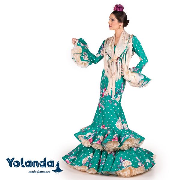 Traje Flamenca Amalia - Yolanda Moda Flamenca