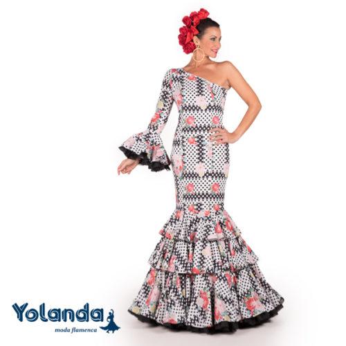 Traje Flamenca Carlota - Yolanda Moda Flamenca