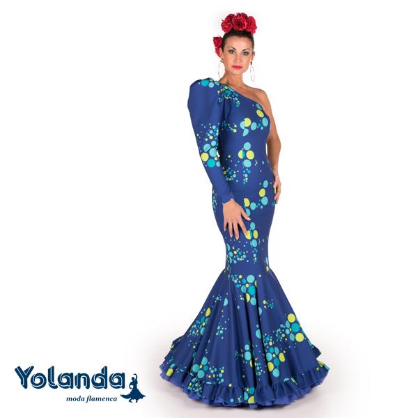 Traje Flamenca Carla - Yolanda Moda Flamenca