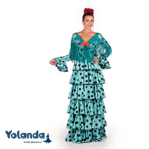 Traje Flamenca Lea - Yolanda Moda Flamenca