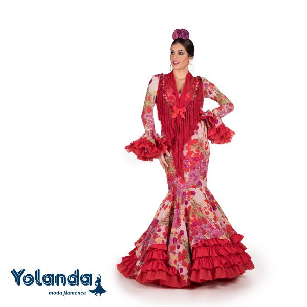 Traje Flamenca Carmina - Yolanda Moda Flamenca
