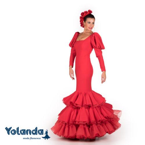 Traje Flamenca Emilia - Yolanda Moda Flamenca